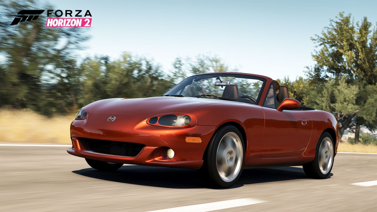 Forza Horizon 2 Players Can Download The Mazda Mx 5 Car Pack Next Week Vg247