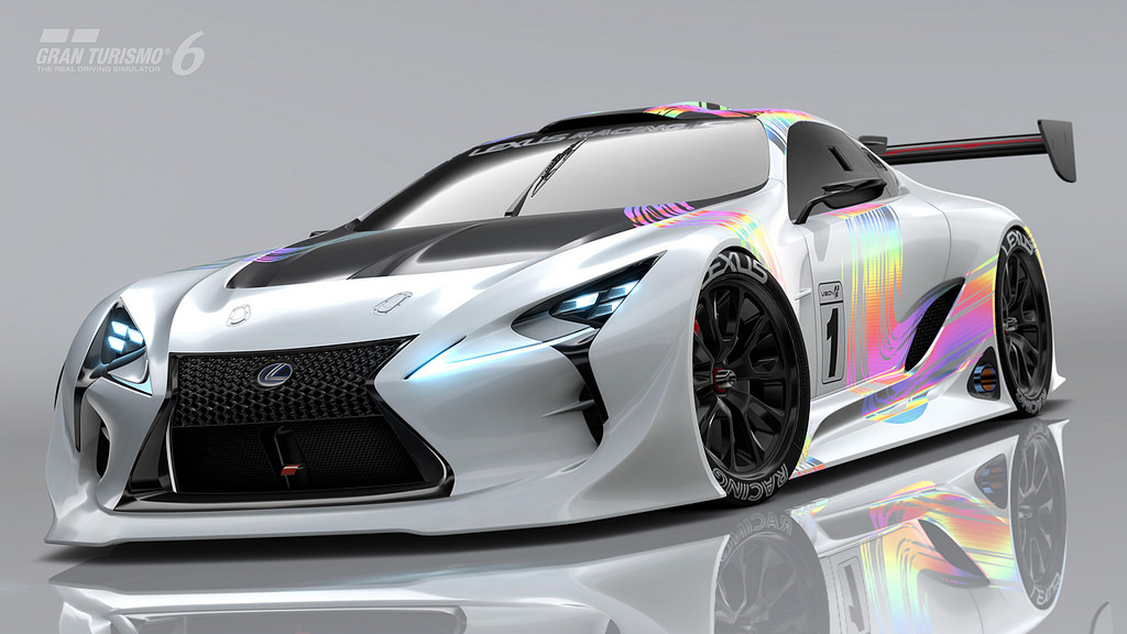 Gran Turismo 6 players can now drive the Lexus LF-LC GT ...