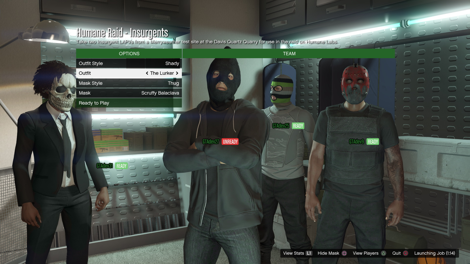 Massive GTA Online Heists leak reveals outfits contacts vehicles masks and prices - VG247