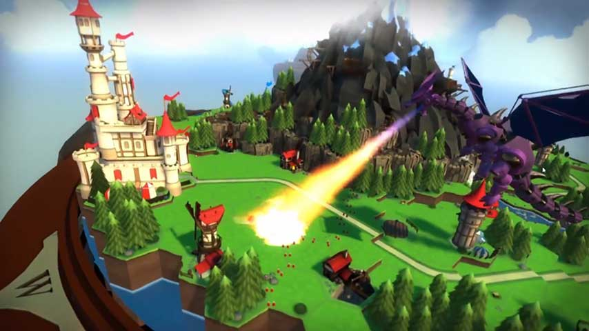 Skyworld Vr Strategy Game Looks Kind Of Like Playing With