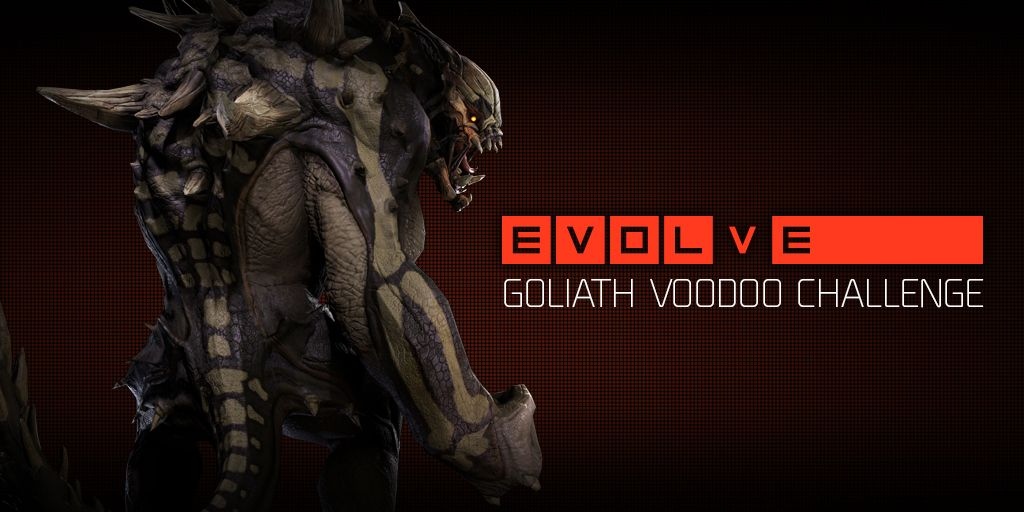 New Evolve community challenge could net you a Goliath