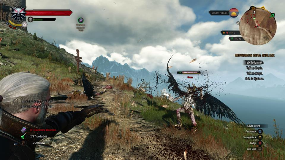 new the witcher 3 screenshots show combat  exploration and