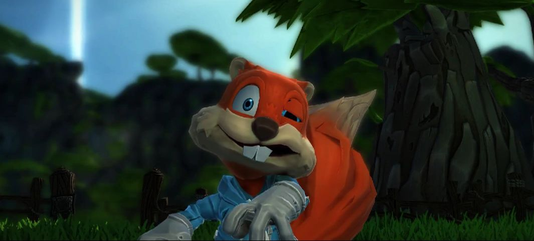 Conker S Big Reunion Video For Project Spark Is As Silly