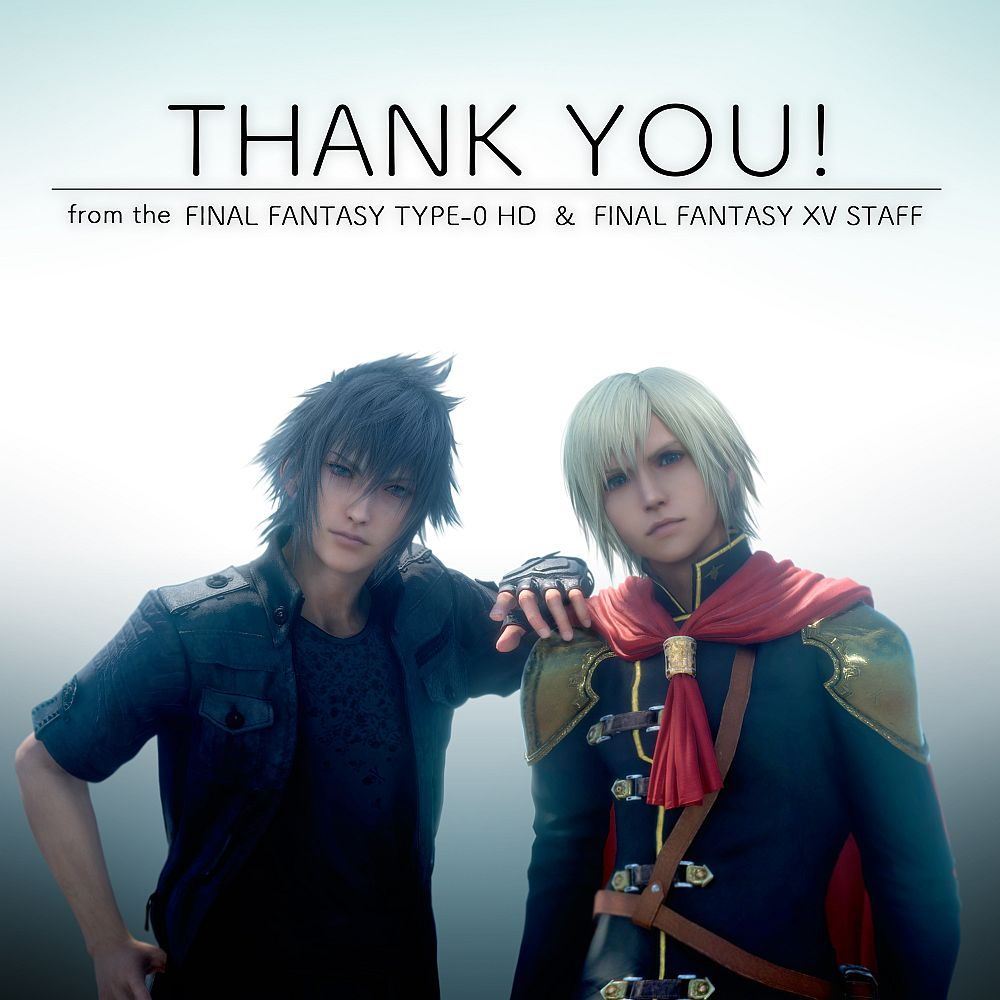 final fantasy type 0 hd has shipped over 1 million copies worldwide vg247. Black Bedroom Furniture Sets. Home Design Ideas
