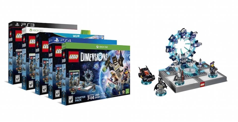 Lego Dimensions Out This Fall Starter Pack Contains