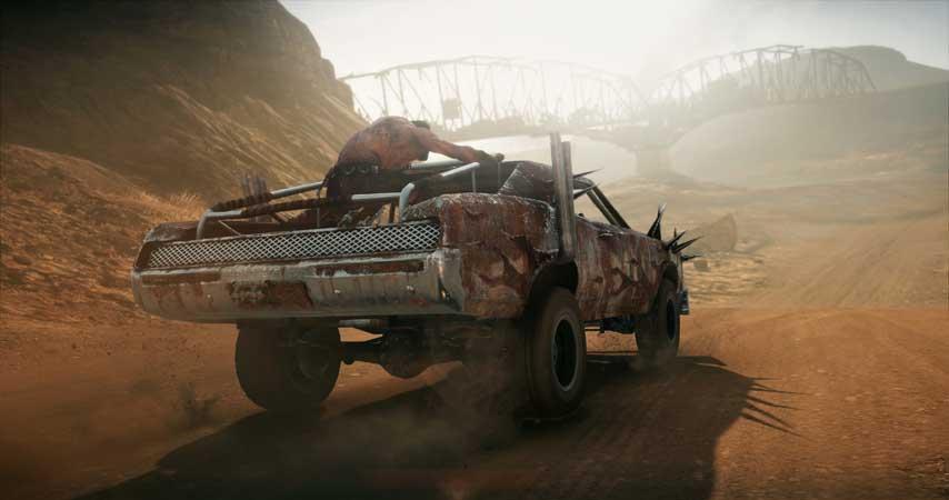 Mad Max screenshots show a gorgeous, deadly desert world ...
