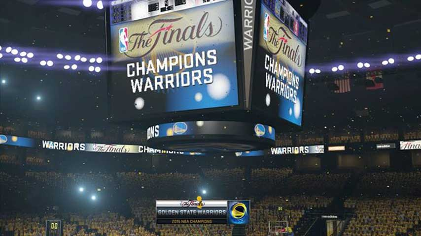 NBA 2K15 tips Warriors for Playoffs win - VG247