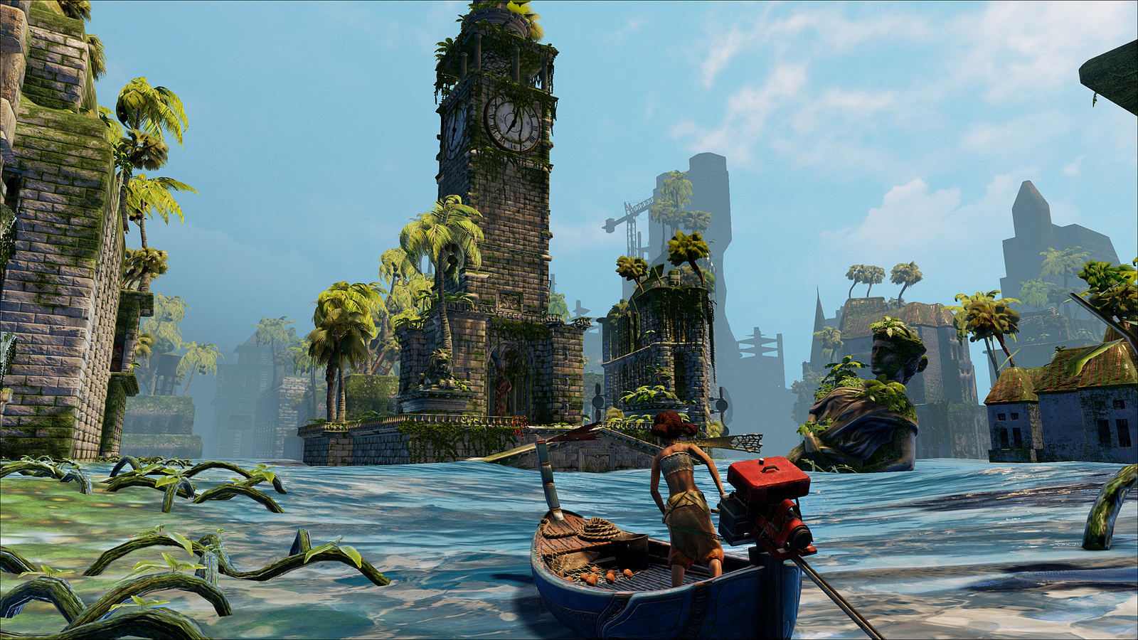 new adventure game submerged arrives on ps4 xbox one and pc next week vg247. Black Bedroom Furniture Sets. Home Design Ideas