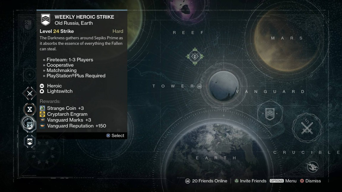 from Jase destiny weekly heroic strike matchmaking