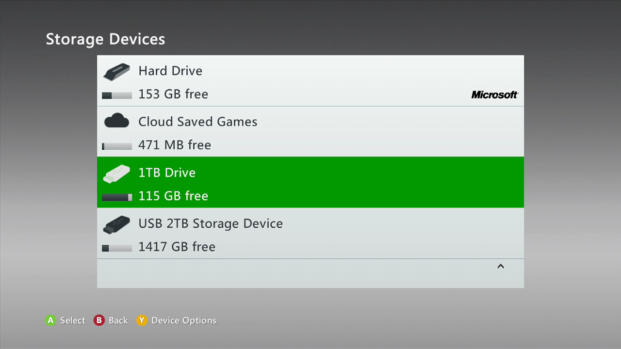 Latest Xbox 360 System Update Is Live Now Supports 2tb
