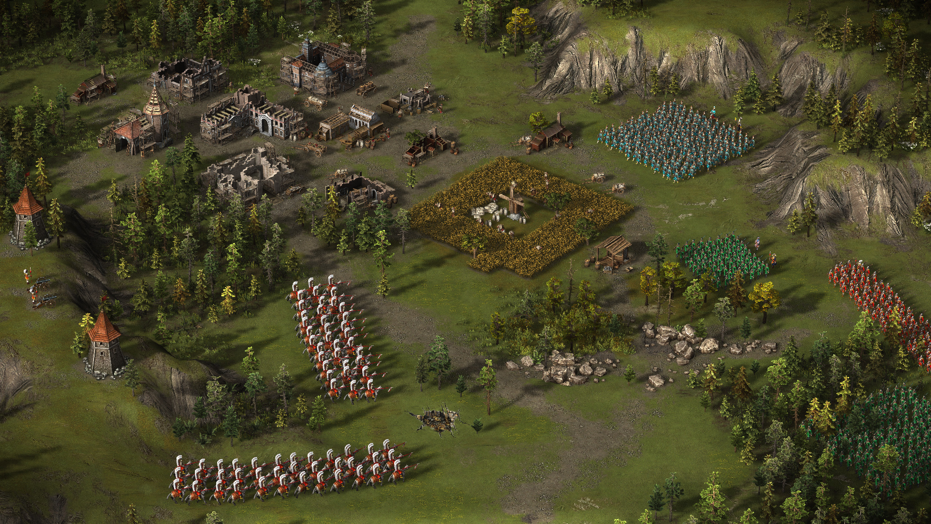cossacks 3 how to make formations