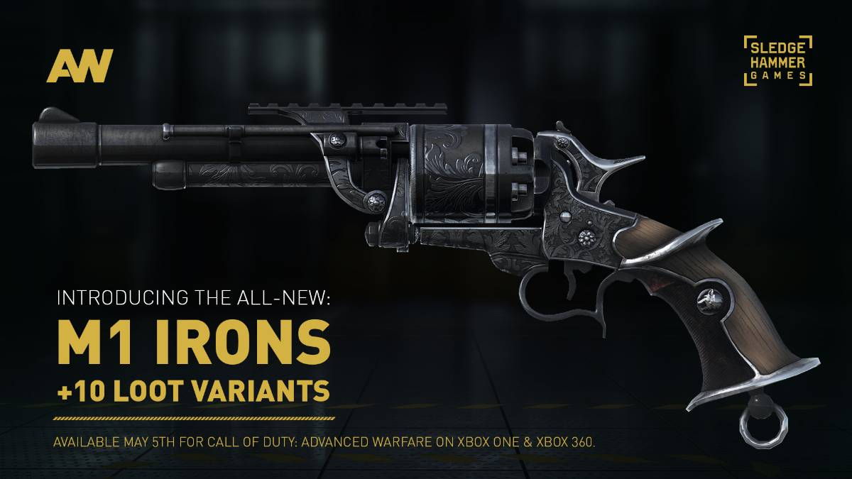 CoD: Advanced Warfare owners get free pistol today - VG247