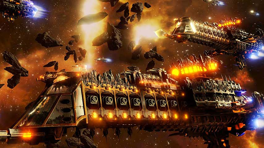 Gargoyles Galore In This Battlefleet Gothic Armada Teaser