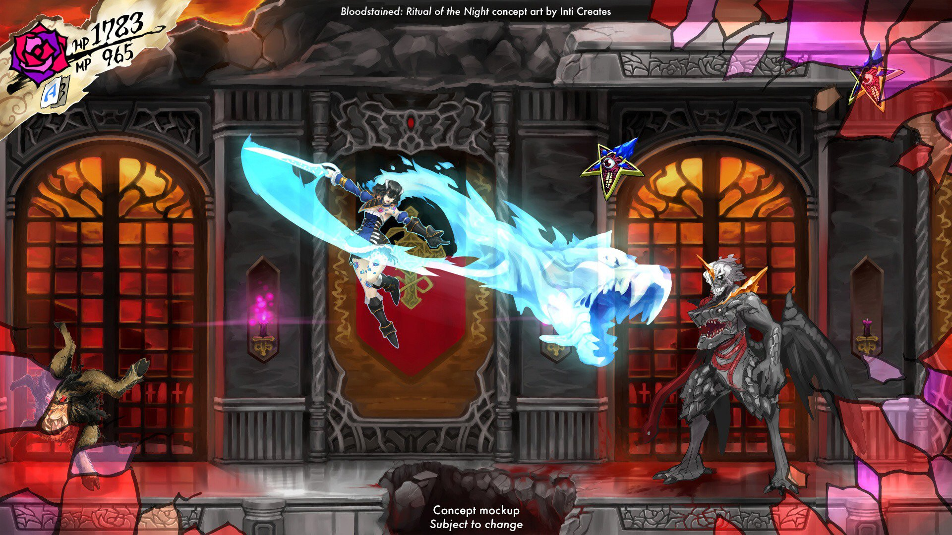 watch iga play an early build of bloodstained ritual of