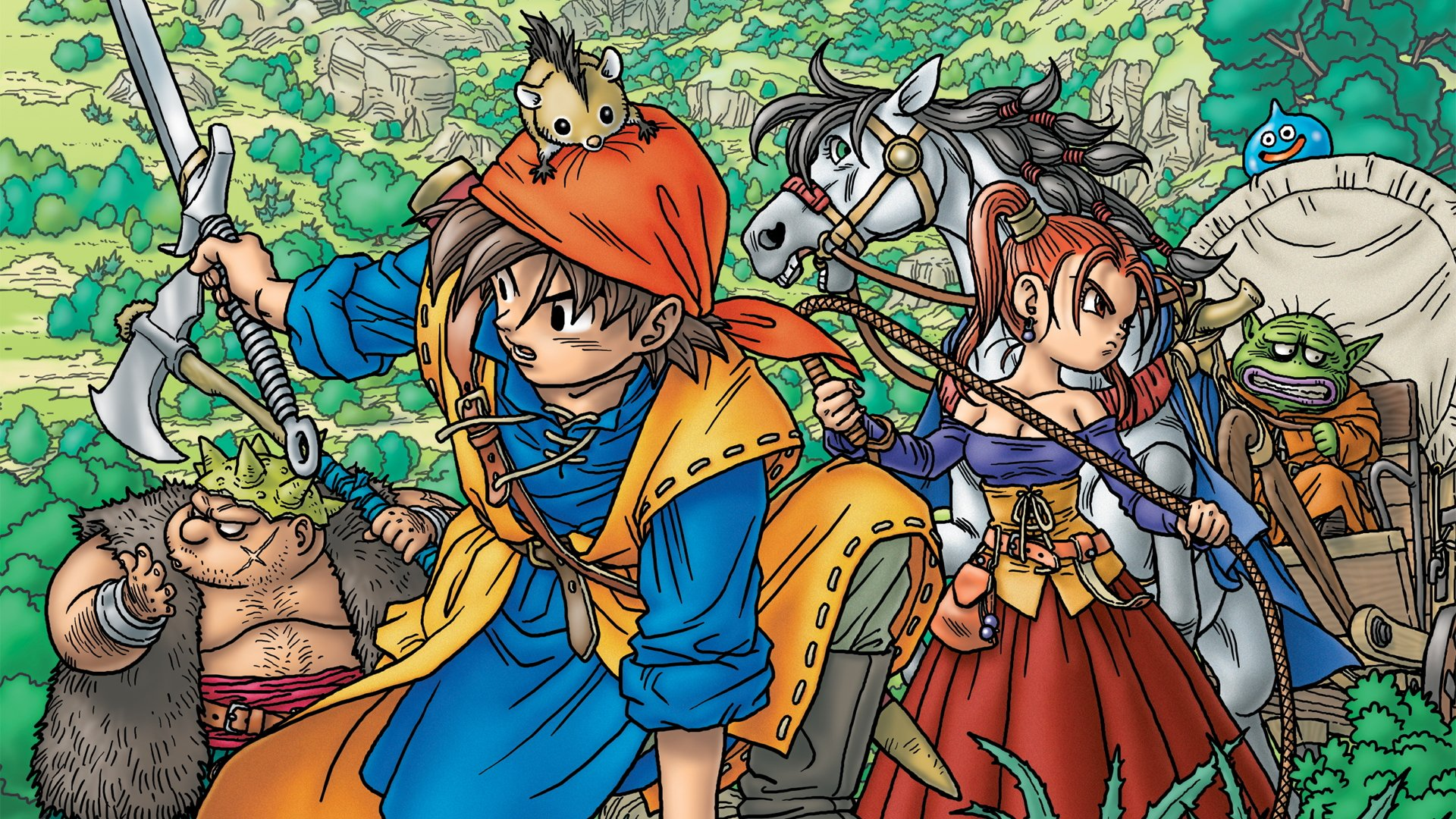 Does Anyone Have Any Good 1920x1080 DQ Wallpapers  Dragonquest