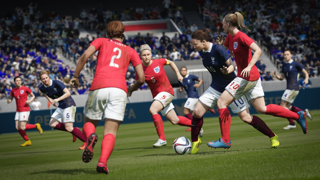 fifa 16 will include women s national teams when it. Black Bedroom Furniture Sets. Home Design Ideas