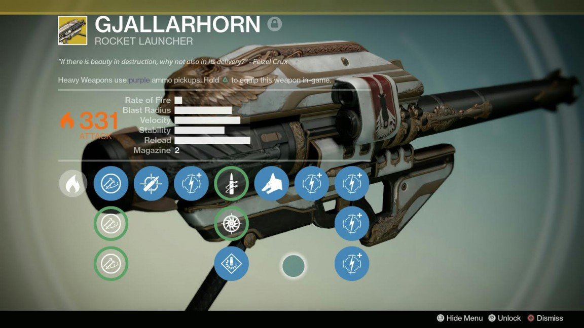 Xur did sell gjallarhorn in week 2 for a modest 17 strange coins
