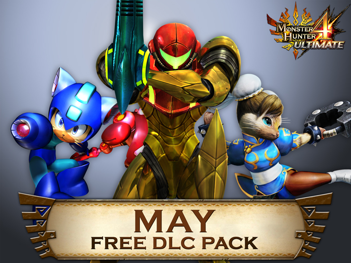 Monster Hunter 4 Ultimate Free Dlc Pack For May Includes