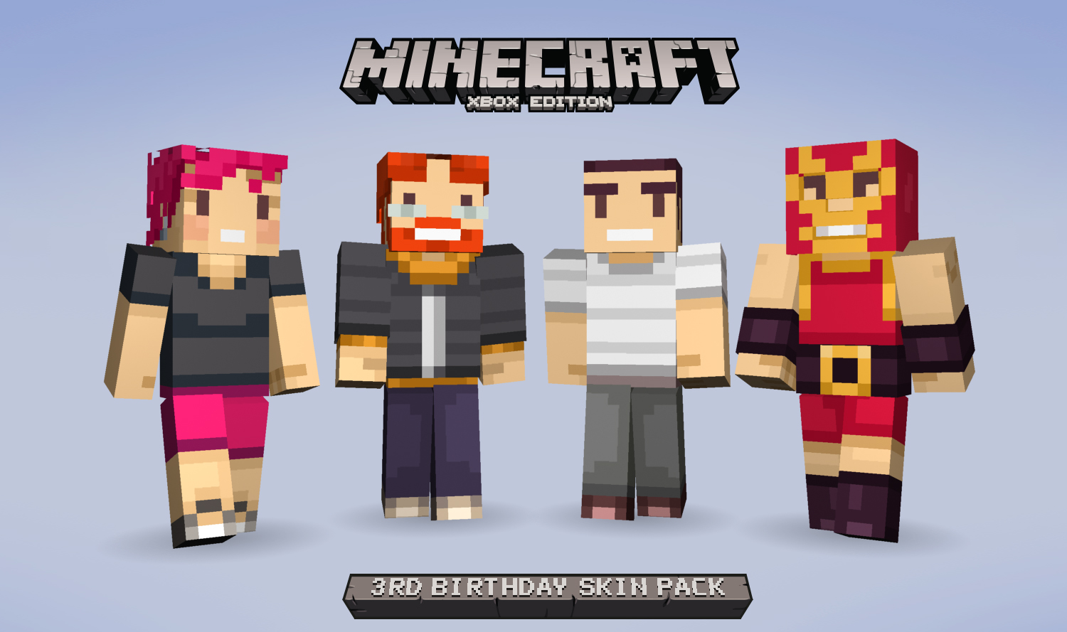 Celebrate Minecraft: Xbox 360 Edition's birthday with some ...