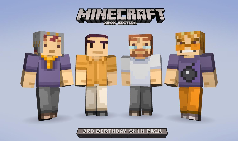 Celebrate Minecraft: Xbox 360 Edition's birthday with some ...