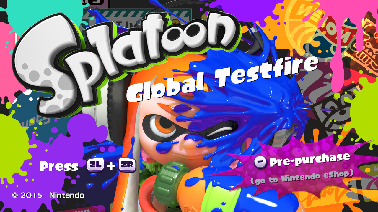 Splatoon Turf War demo events start tomorrow, post-launch ...