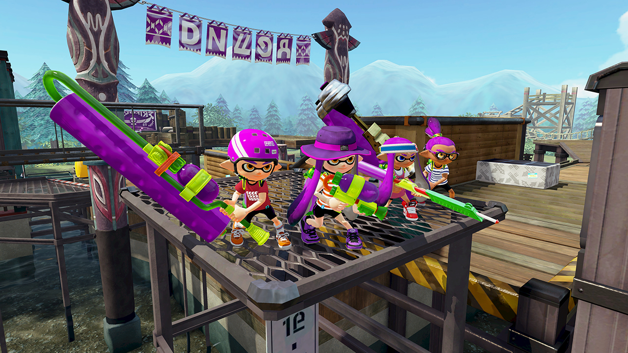 Splatoon Turf War Demo Events Start Tomorrow Post Launch