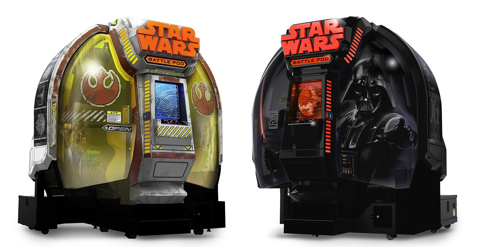 star wars battle pod home version of the arcade game can be yours for  35 000 vg247 xbox one controller service manual xbox one owners manual download