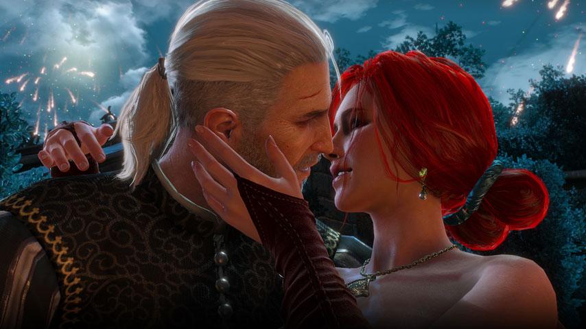 The Witcher 3 Wild Hunt Triss Merigold Sex Scene