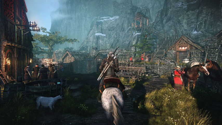 Xbox One Perks With The Witcher 3 Release Date! Map, Card Deck, Figure ...