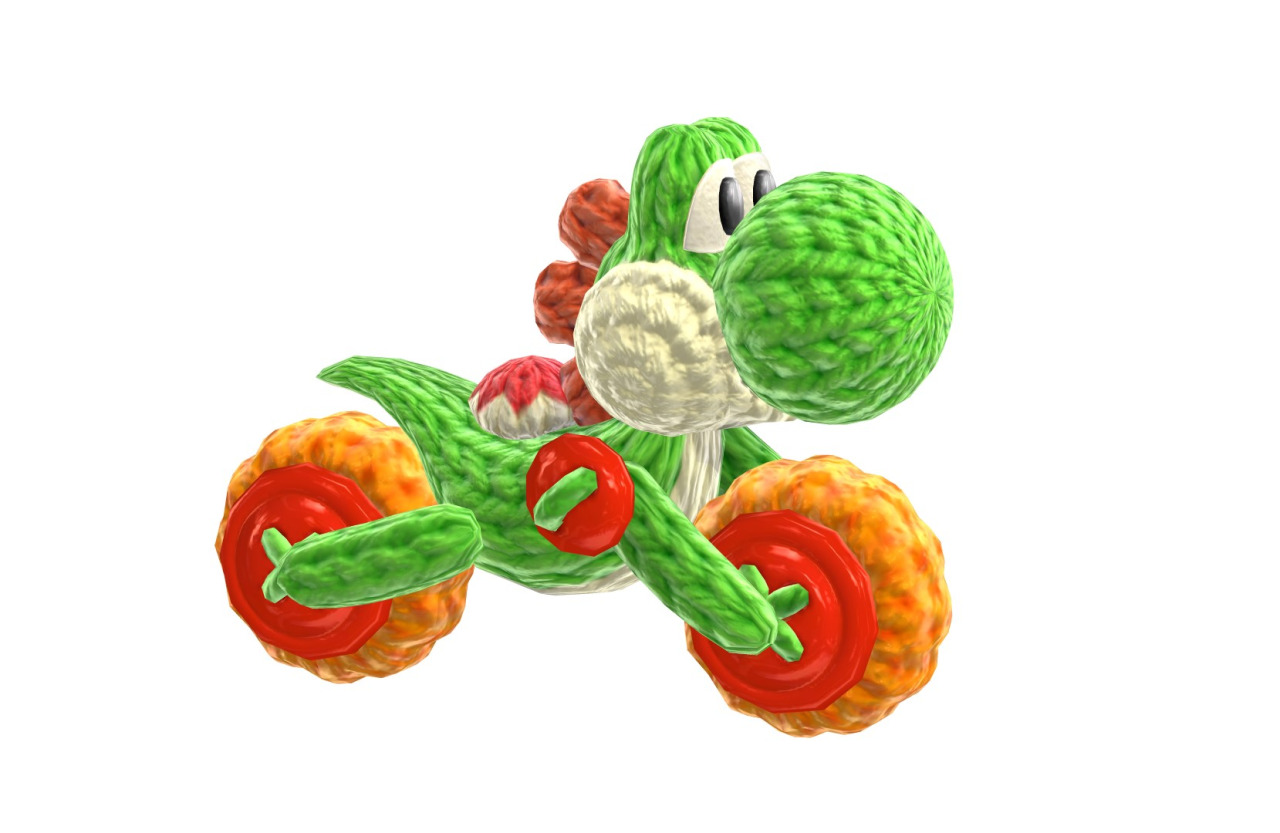 yoshi woolly world how to make yoshi