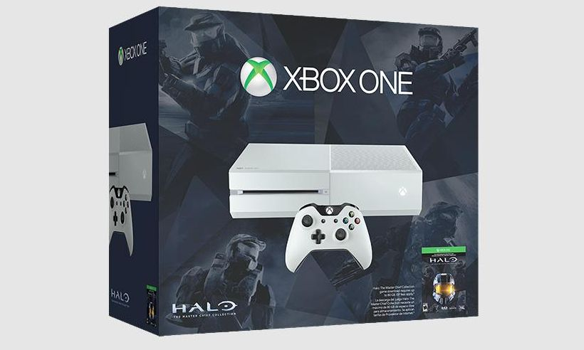 Cirrus White Xbox One Special Edition Halo: The Master