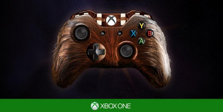 custom xbox one star wars controllers look very tempting. Black Bedroom Furniture Sets. Home Design Ideas