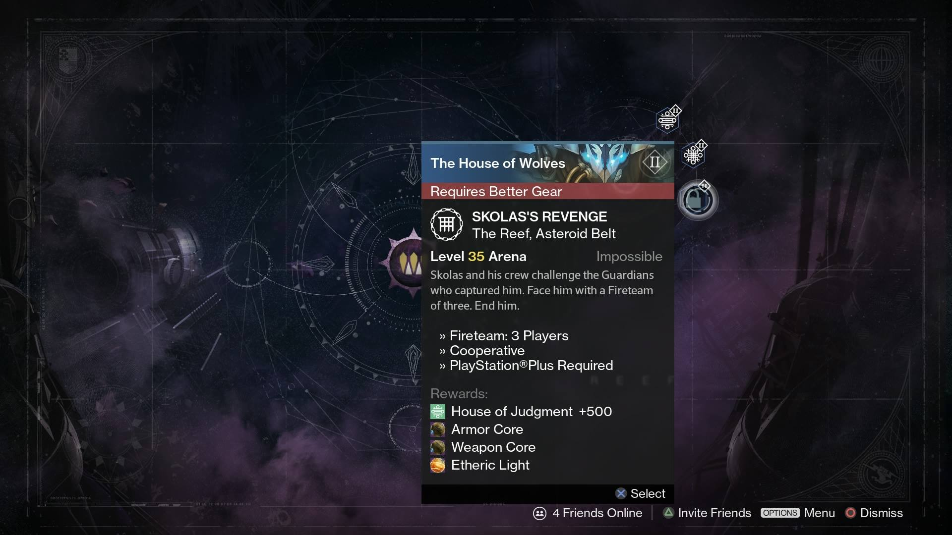 no matchmaking for prison of elders Destiny's april update promises a much better because the prison of elders is coming back with a bang as part i don't want matchmaking for the.