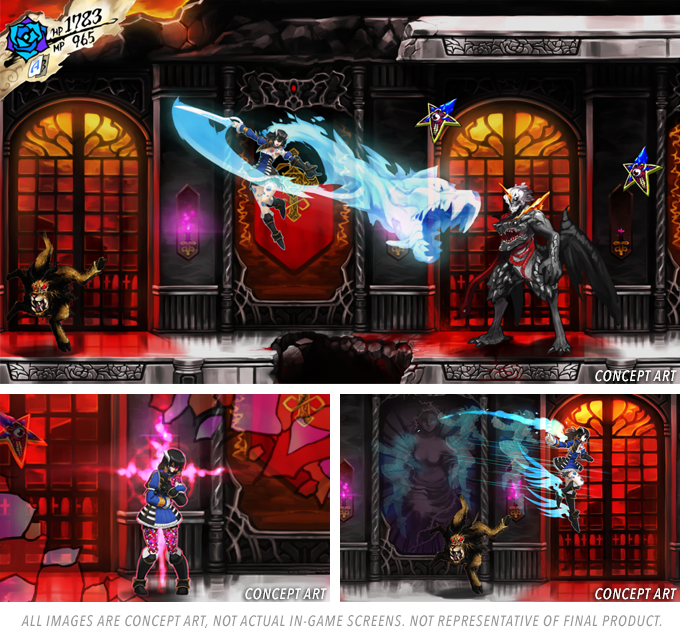 Bloodstained: Ritual of the Night Kickstarter ends with ...