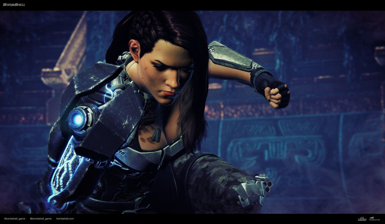 bombshell game pc trailer shelly e3 ps4 xbox dump spoilers heavy contain vg247 footage shows quakecon playable july