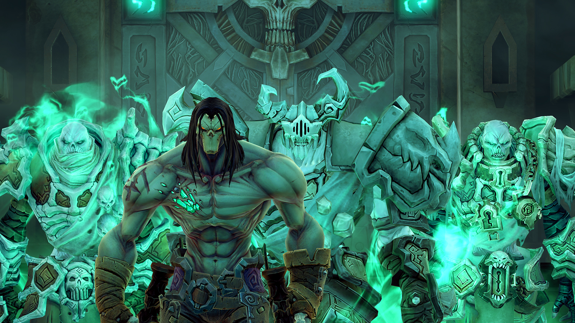 See the graphical improvements coming with Darksiders 2 ...