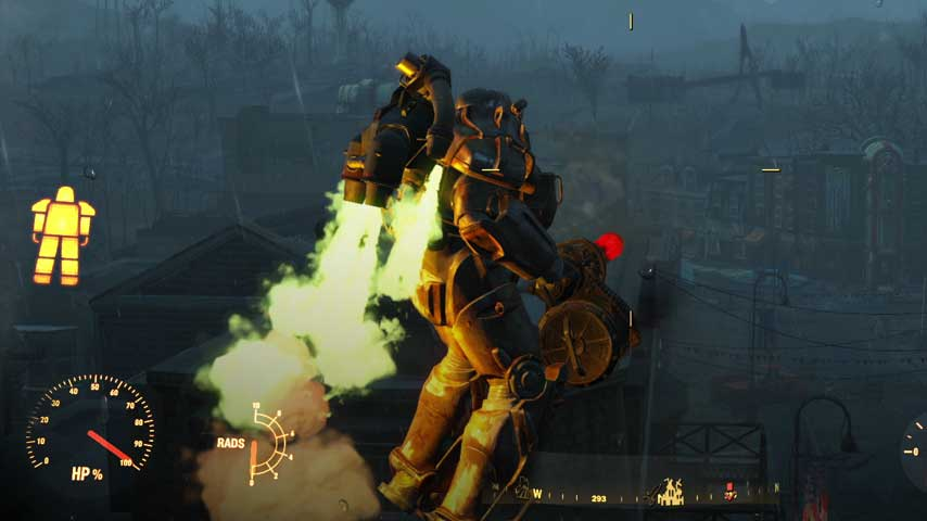 Fallout 4 date in Melbourne