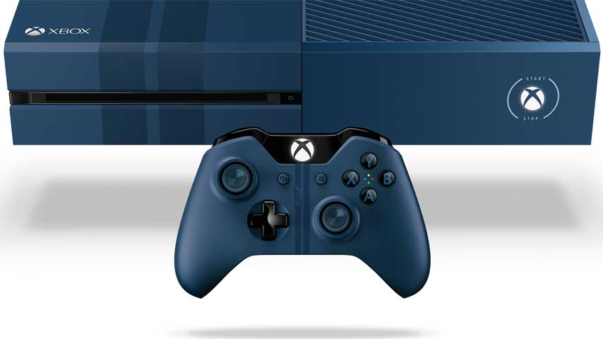 xbox one blue - photo #3