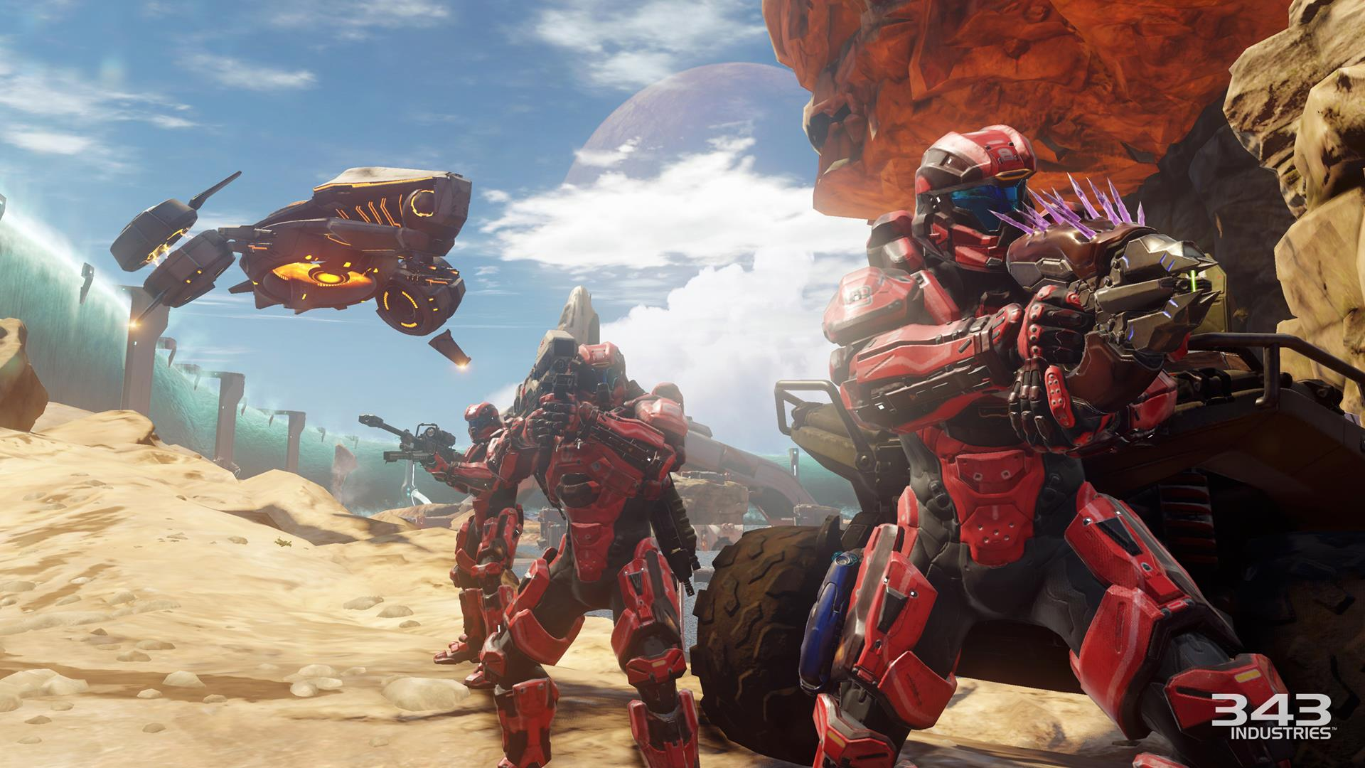 Halo 5 Guardians Screens Show Plenty Of Warzone Action