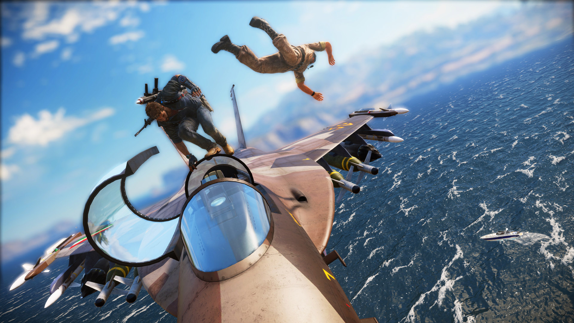 just cause 3 take a 4k wing suit ride around medici vg247. Black Bedroom Furniture Sets. Home Design Ideas
