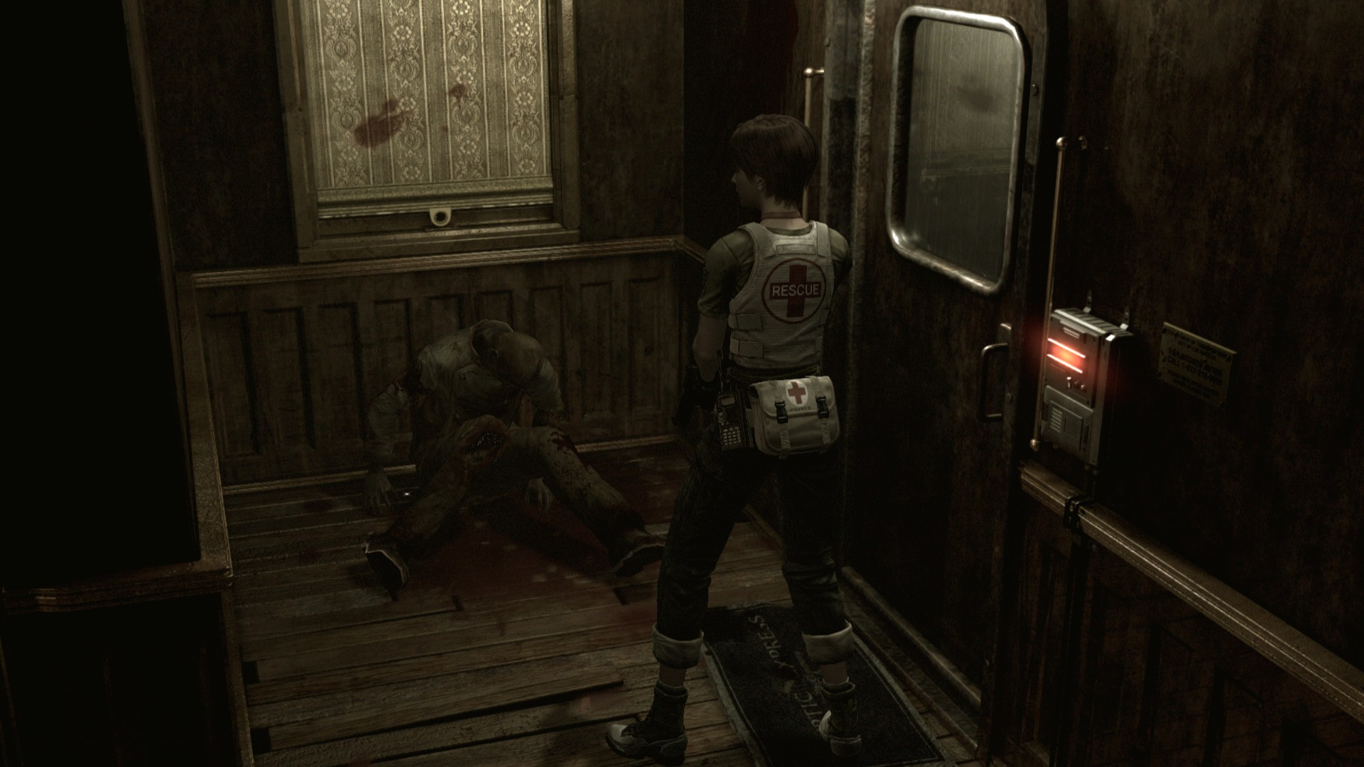 Resident Evil 0 Hd Remaster Screens Show Improved Visuals