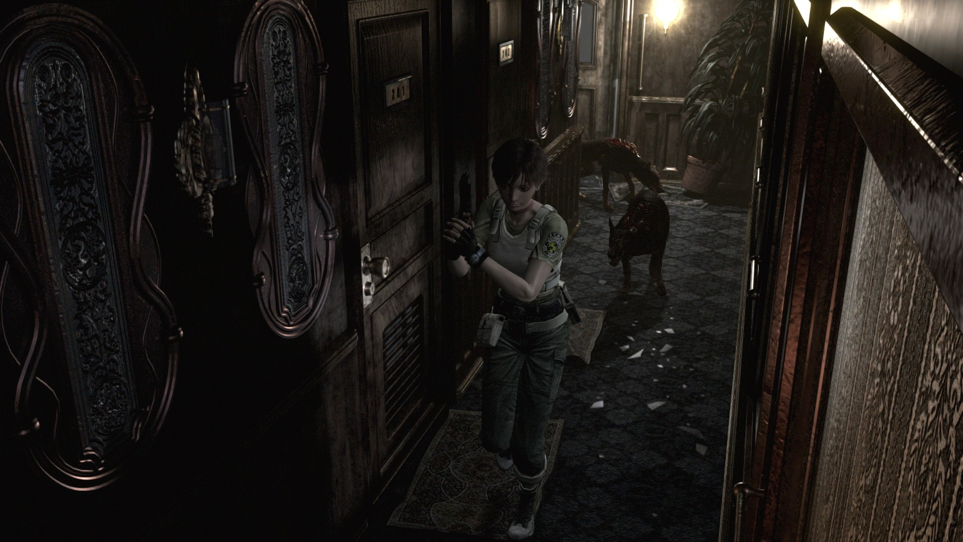 Resident Evil 0 Hd Remaster Screens Show Improved Visuals Vg247
