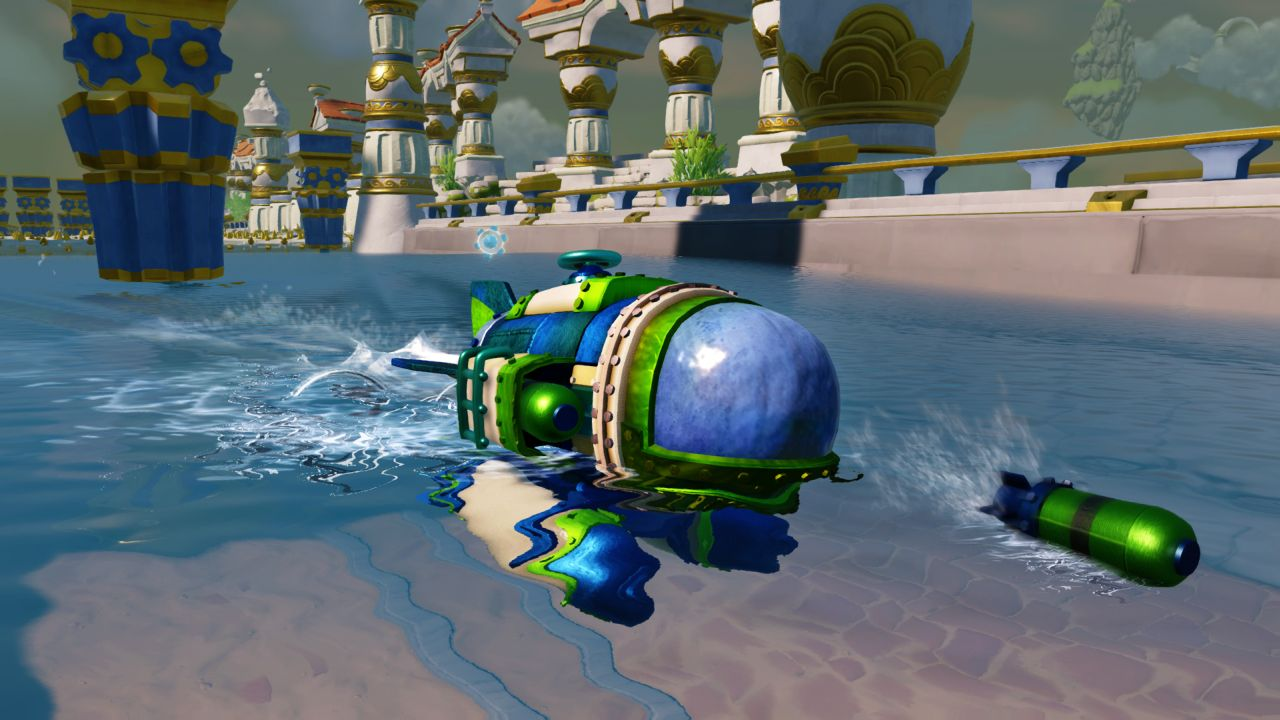 how to play skylanders superchargers