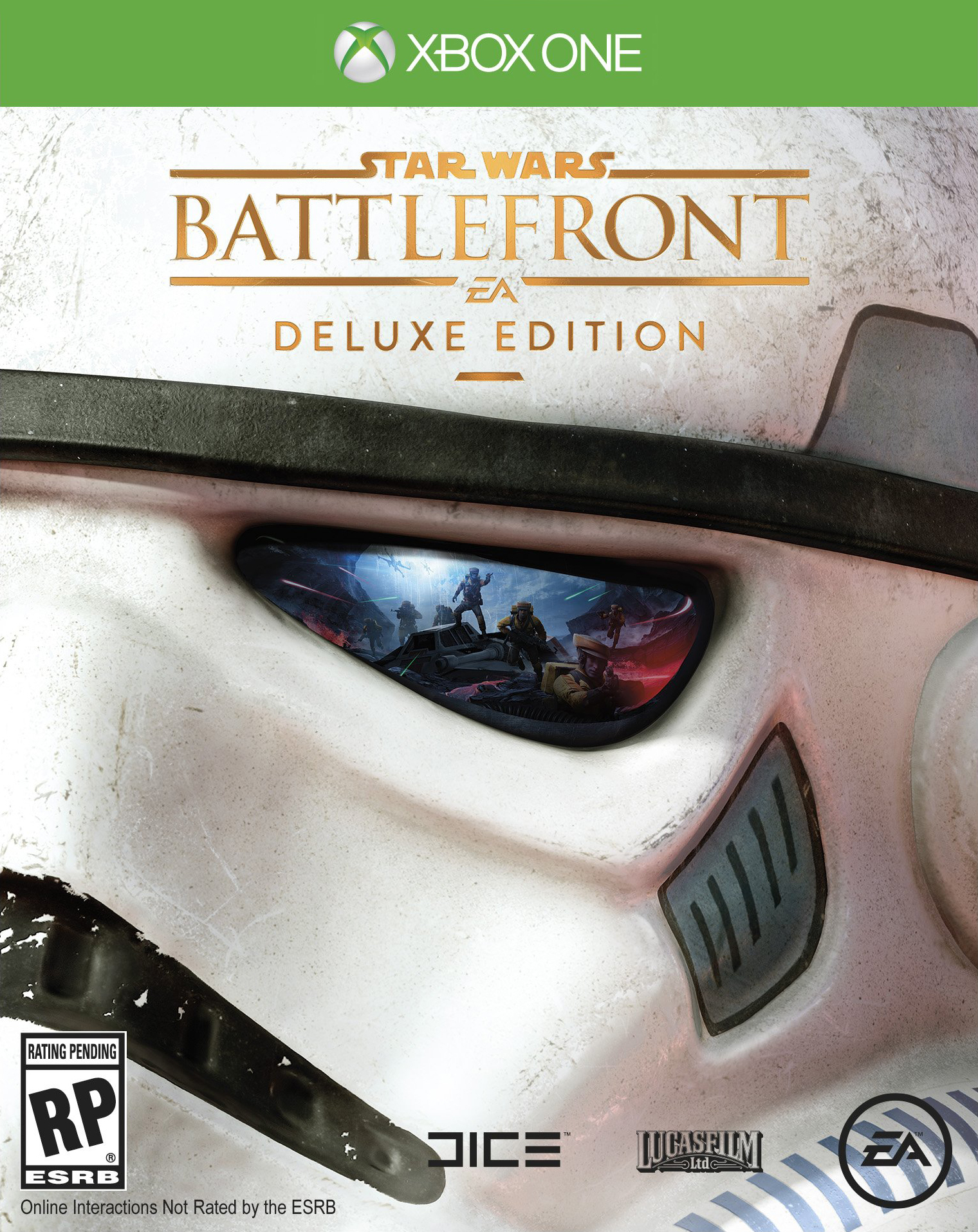 Star Wars Game For Xbox 1 : Star wars battlefront deluxe edition box art is rather