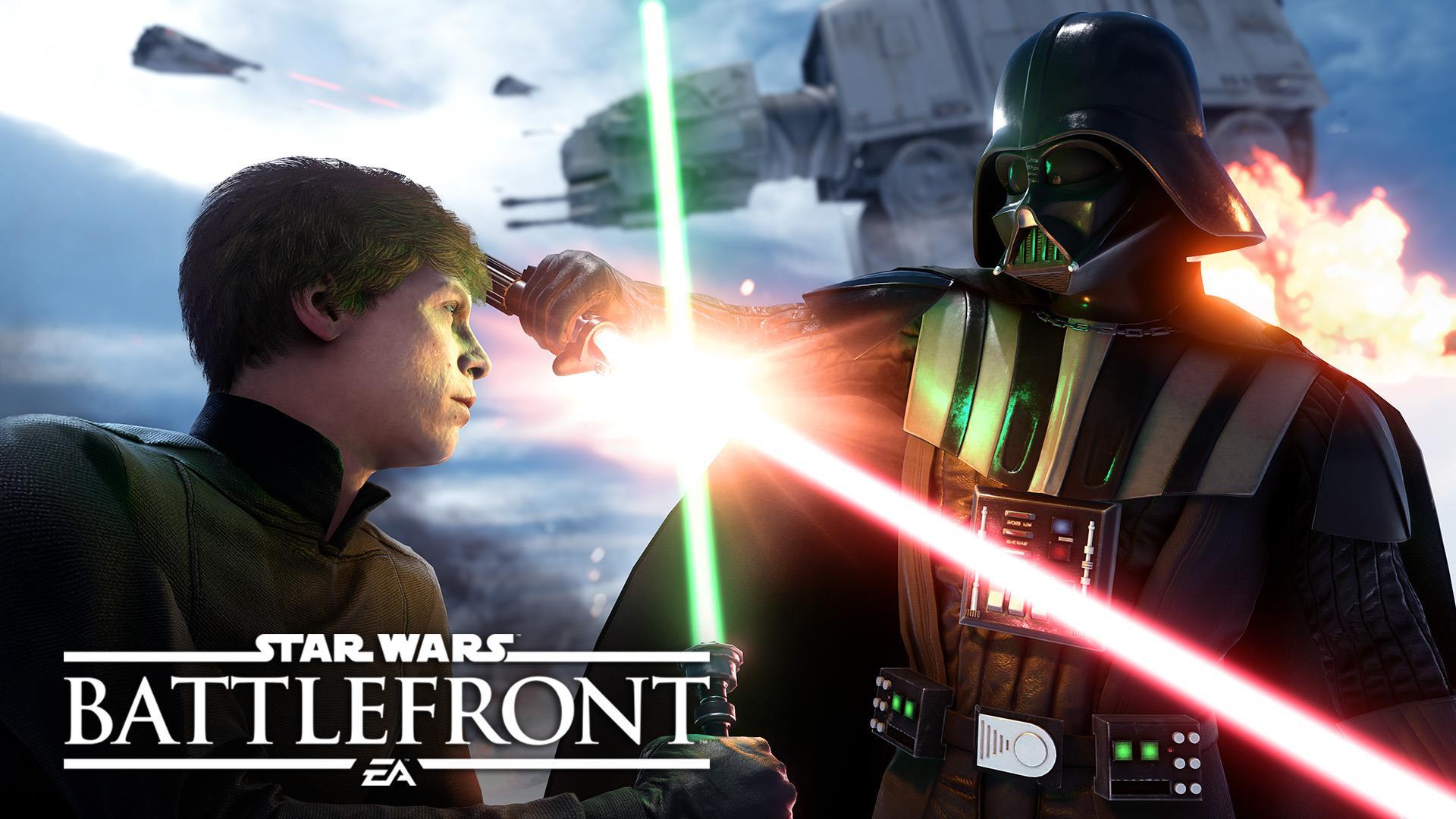 Star Wars Battlefront Screens Show Skywalker  Vader  Hoth