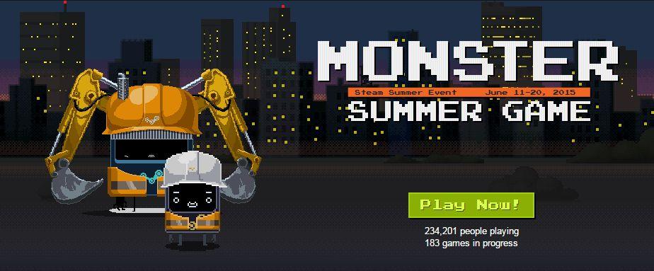 Summer Sale Steam 2015 Countdown Steam Monster Summer Sale Day
