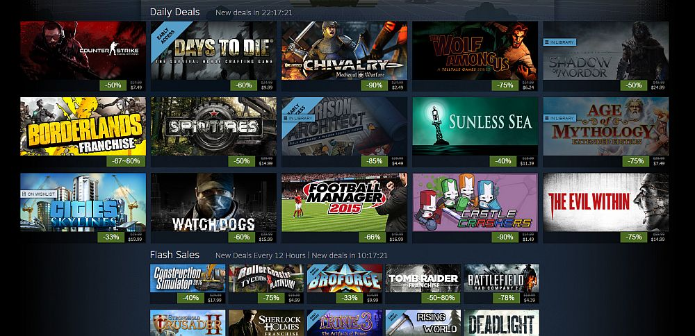 Summer Sale Steam 2015 Games Steam Summer Sale Day 3 Deep