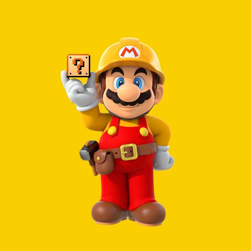 More Super Mario Maker E3 2015 Assets Than We Will Ever