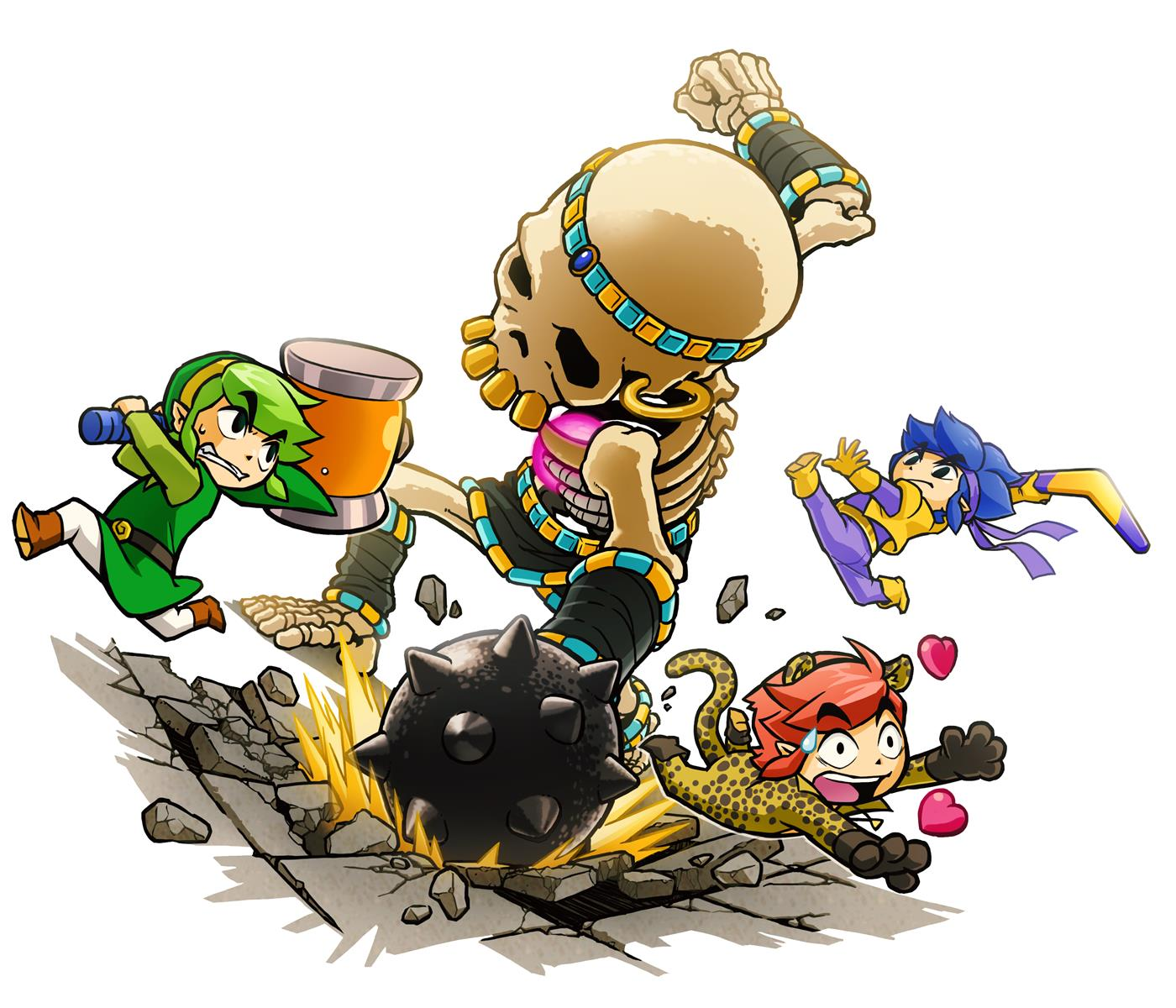 e3 2015 zelda tri force heroes announced for 3ds   vg247