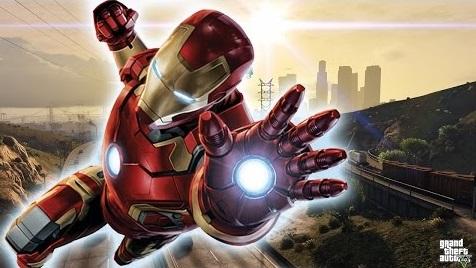 Gta 5 Mod Brings Iron Man To Los Santos Vg247